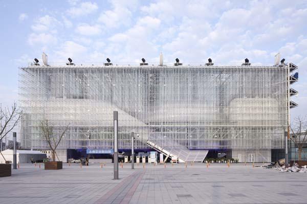 西立面-2010年上海世博会-上海企业联合馆第7张图片
