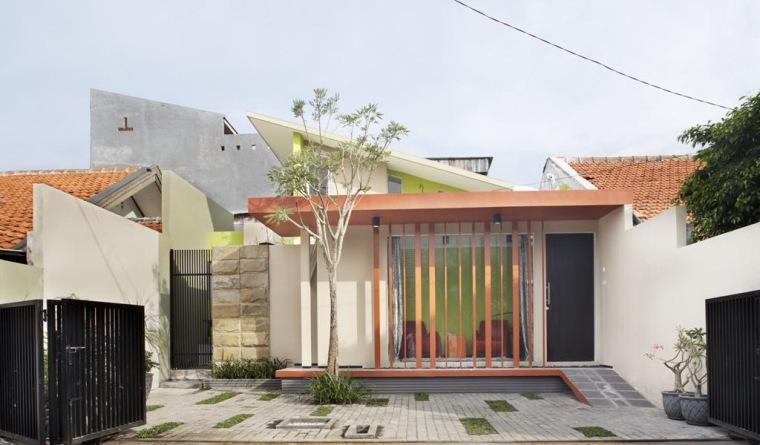 垂直条形码住宅第2张图片