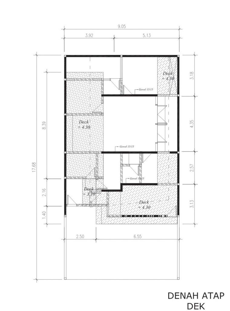 布局图02 layout plan copy02-垂直条形码住宅第13张图片