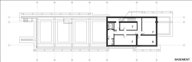 CoOp银行-地下室平面图 basement plans-Co Op银行第20张图片