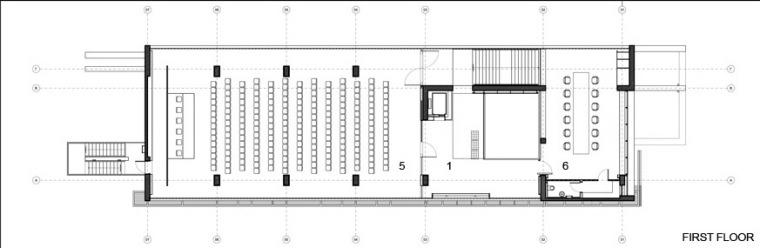 CoOp银行-二层平面图 first floor plans-Co Op银行第21张图片