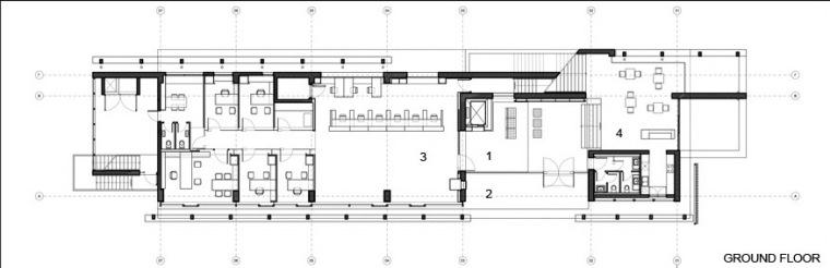 CoOp银行-首层平面图 ground floor plans-Co Op银行第26张图片