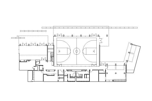 低层平面图 lower floor plan-格伦伊格尔斯社区中心第14张图片