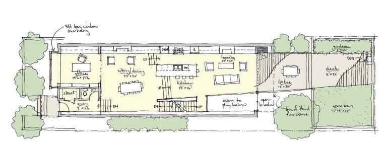 理念图01 concept plan 01-芝加哥木宅第11张图片