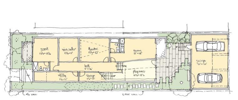 理念图02 concept plan 02-芝加哥木宅第12张图片