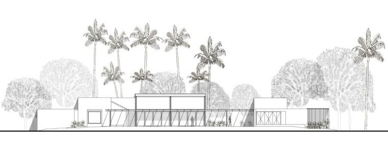 立面图 elevation-卡达卡哇斯拉住宅第20张图片