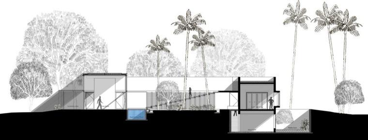 剖面图 section-卡达卡哇斯拉住宅第25张图片