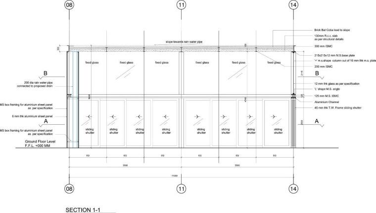 起居室平面图 living room plan-卡达卡哇斯拉住宅第26张图片