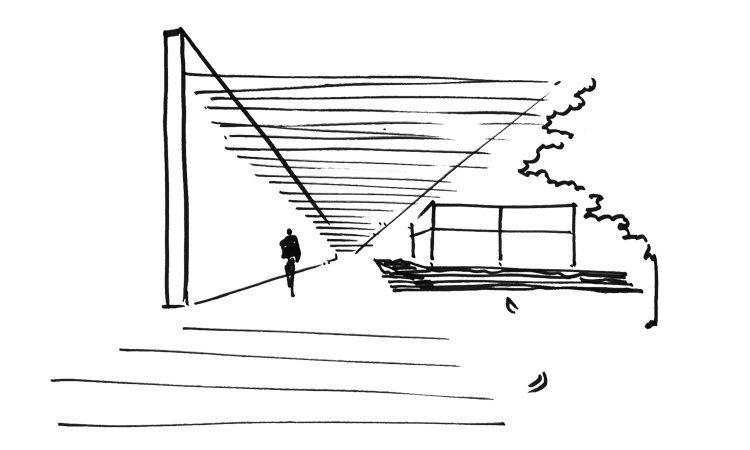 视角图 view sketch-卡达卡哇斯拉住宅第27张图片