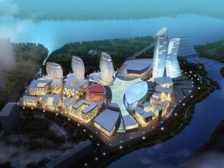 IT产业园规划资料下载-辽宁广电中心及北方传媒文化产业园