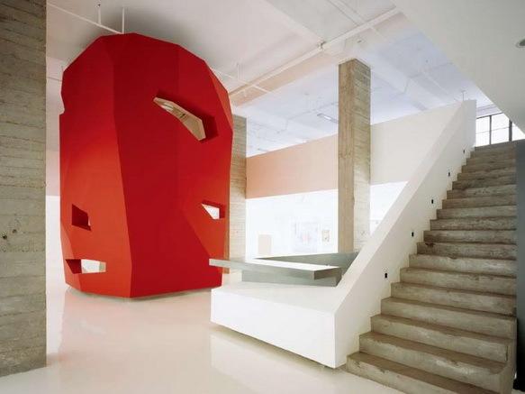 红色物语-旧厂房成为新办公楼的改造方案