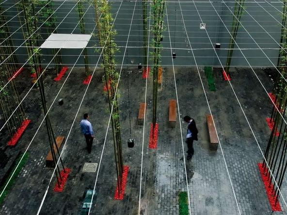 上海市中心某旧工业厂区改造