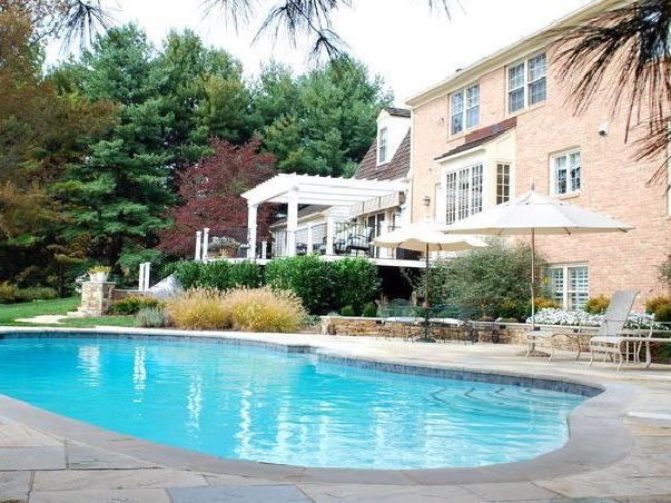 宅院室外泳池