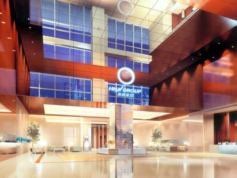 北京海航集团科航办公楼室内设计