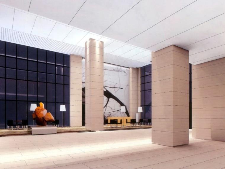 晨国际办公楼公共部位装饰工程