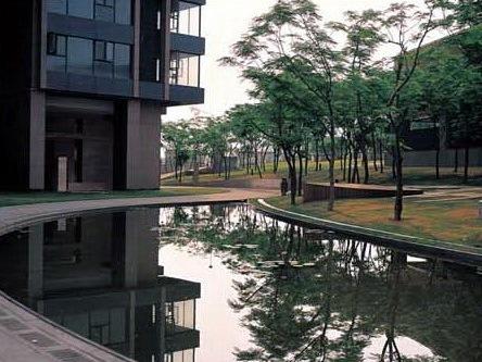 深圳蛇口后海公馆住宅区景观规划设计第1张图片