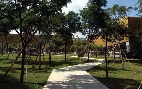 深圳蛇口后海公馆住宅区景观规划设计第5张图片