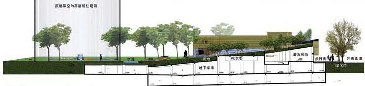 深圳蛇口后海公馆住宅区景观规划设计第8张图片