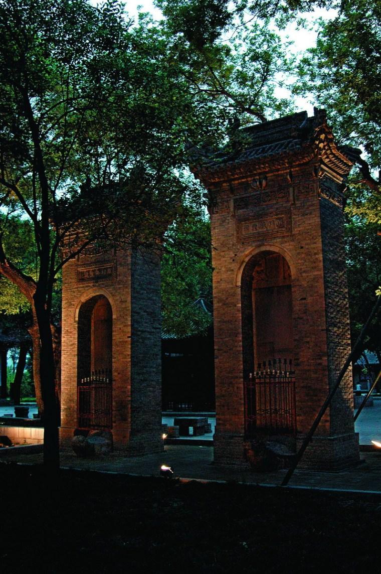 小雁塔历史文化公园照明设计