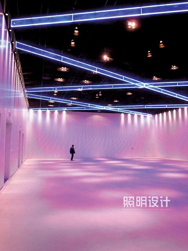 世博主题馆夜景照明设计