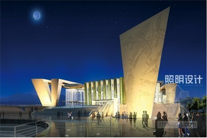 武汉琴台大剧院泛光照明