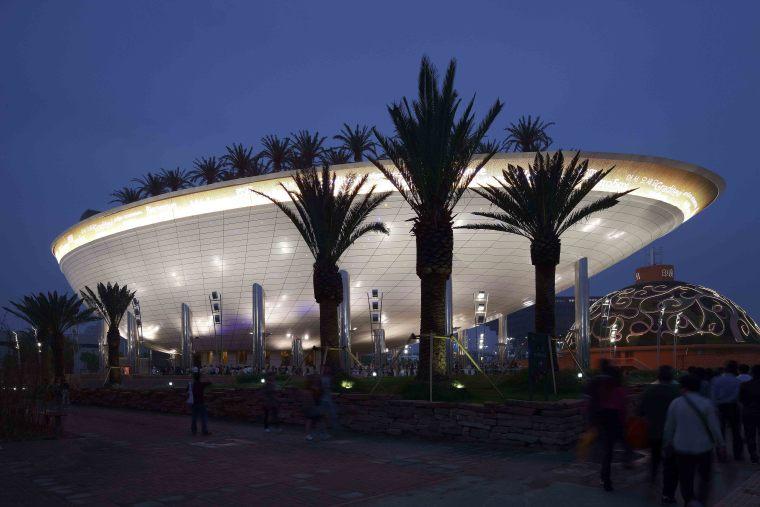上海世博会沙特阿拉伯国家馆建筑泛光照明