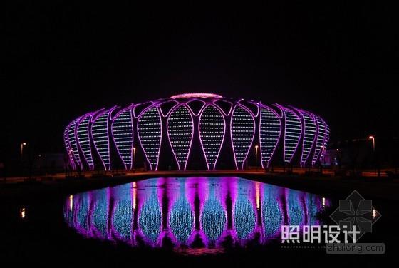 济南奥体中心体育馆立面照明改造工程