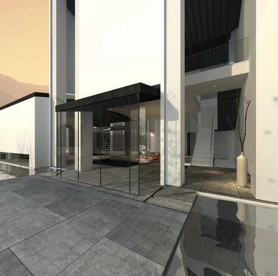 北京雅世集团水乐坊私人会所室内空间及建筑外立面设计