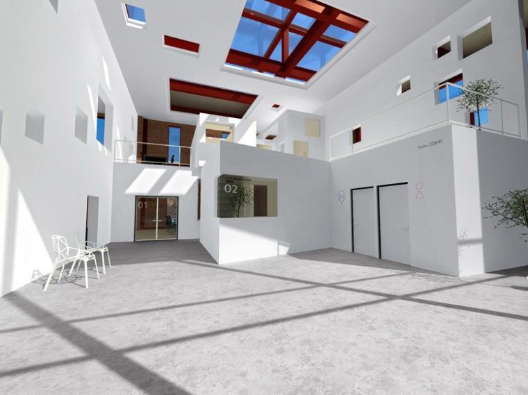 北京ACC建筑与规划设计研究院北京地区办公空间设计