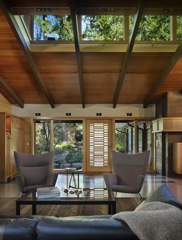 vray室外玻璃材质资料下载-森林公园湖畔住宅