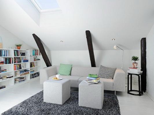 北欧风光复式住宅
