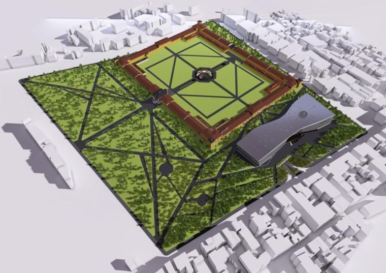 平面图 plan-伊斯坦布尔图书馆第24张图片