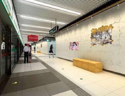 北京地铁八号线室内设计第5张图片