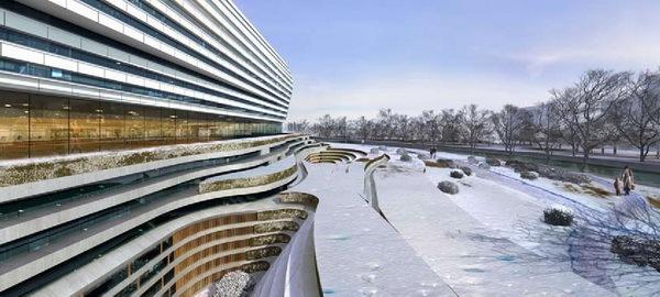 国家体育总局冬季运动管理中心综合训练馆第6张图片