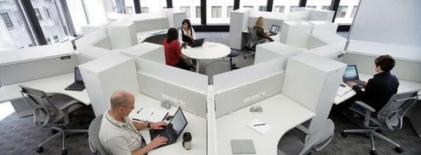 IBM加拿大分公司办公空间改造第6张图片