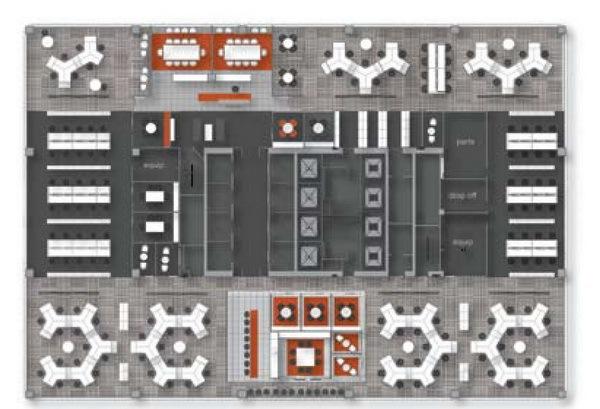 IBM加拿大分公司办公空间改造第9张图片