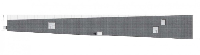 立面图 facade-新矿业博物馆第8张图片