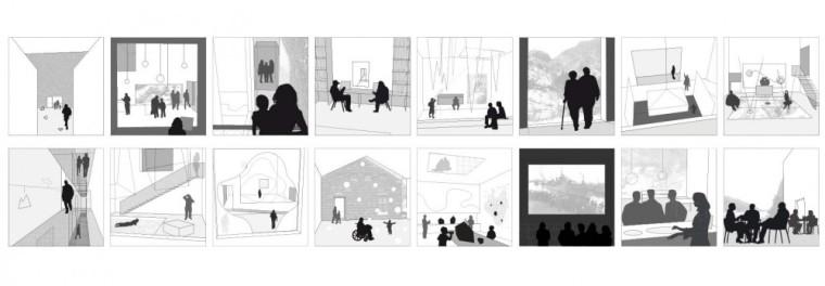 设计理念分析图 storyboard diag-新矿业博物馆第15张图片