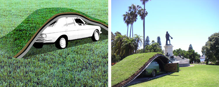 草坪下的停车场第3张图片