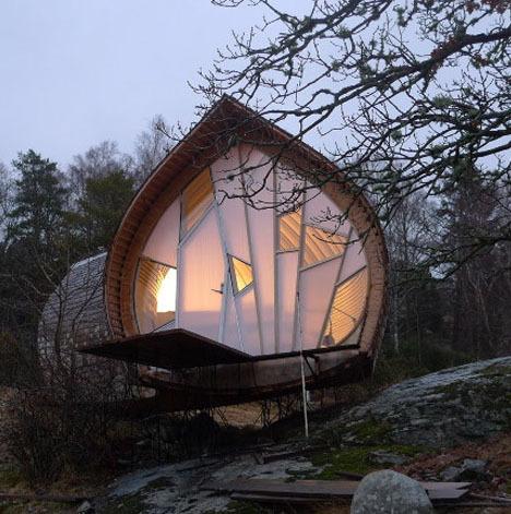 瑞典小木屋住宅第8张图片