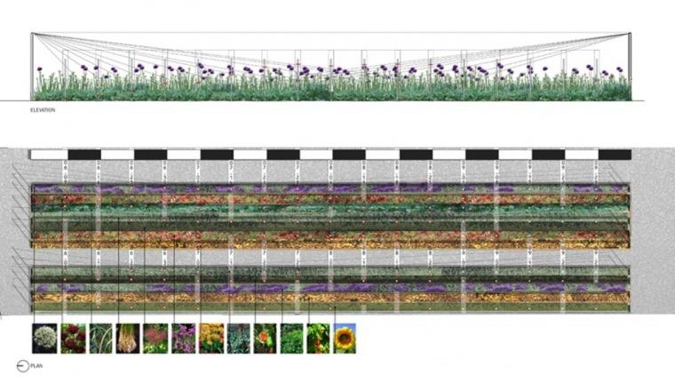 平面图 plan-交错耕犁花园第9张图片