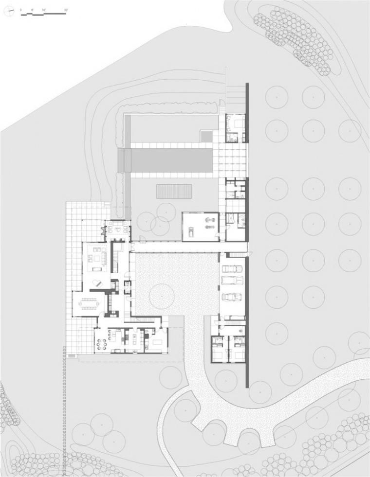 平面图 plan-Sagaponack住宅第10张图片