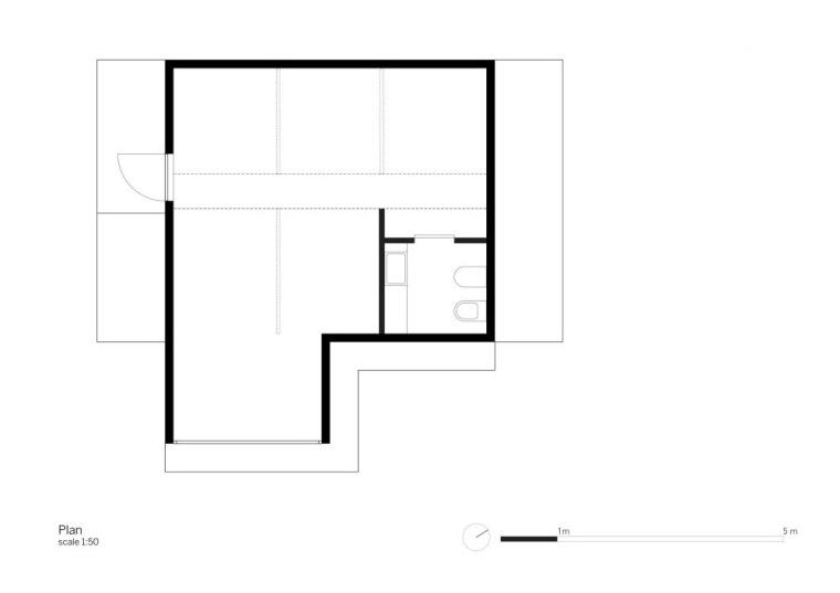 平面图 Floor Plan-依附住宅第14张图片