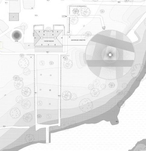 主平面图 master plan-Serlachius博物馆扩建方案第10张图片