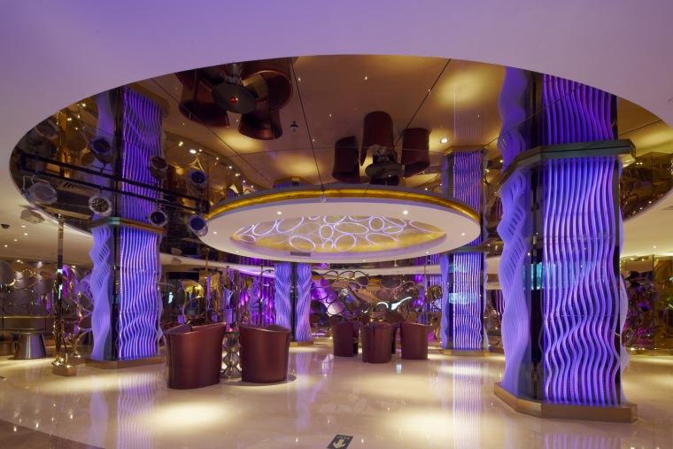 麦乐迪KTV朝外店大厅改造第4张图片