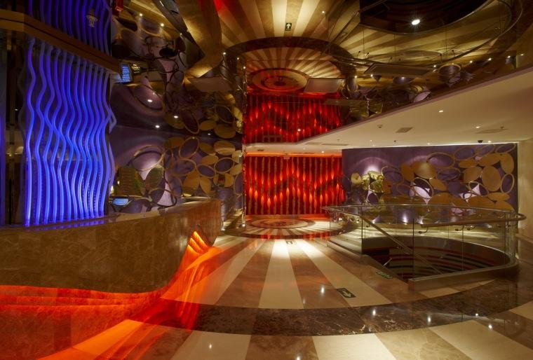 麦乐迪KTV朝外店大厅改造第8张图片