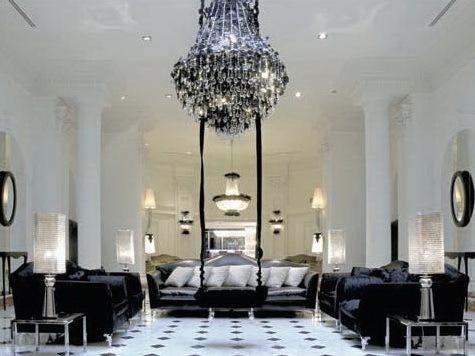 黑白色浪漫的酒店第1张图片