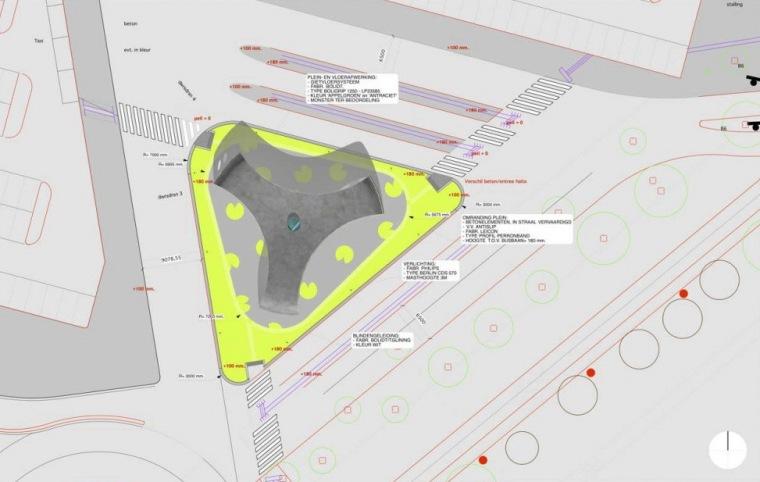 位置平面图 site plan-Park+Ride公车站第13张图片