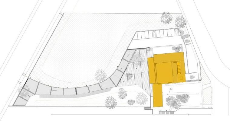 位置平面图 site plan-Masia Can Guasch学院第25张图片