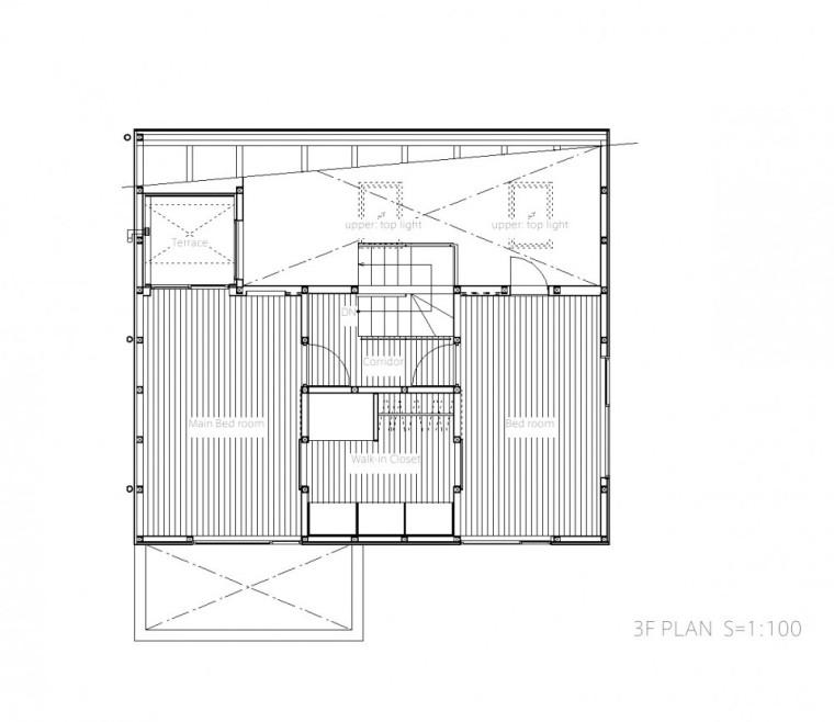 平面图02 Plan02-Togoshi住宅第22张图片